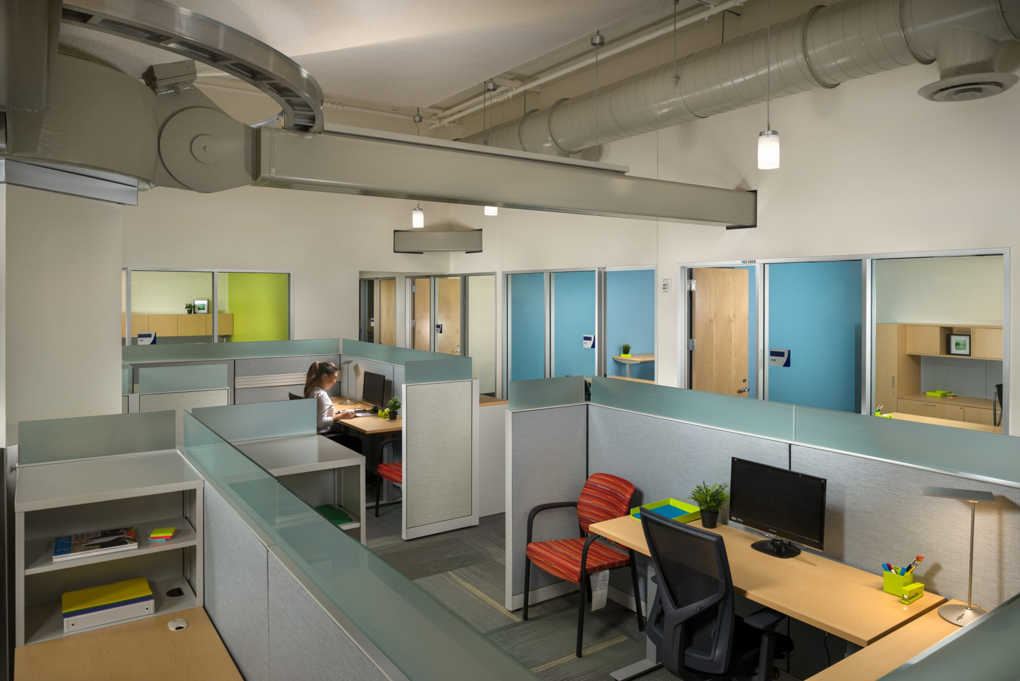 Oak terminal one expansion rehabilitation mwa architects - Oakland community college interior design ...