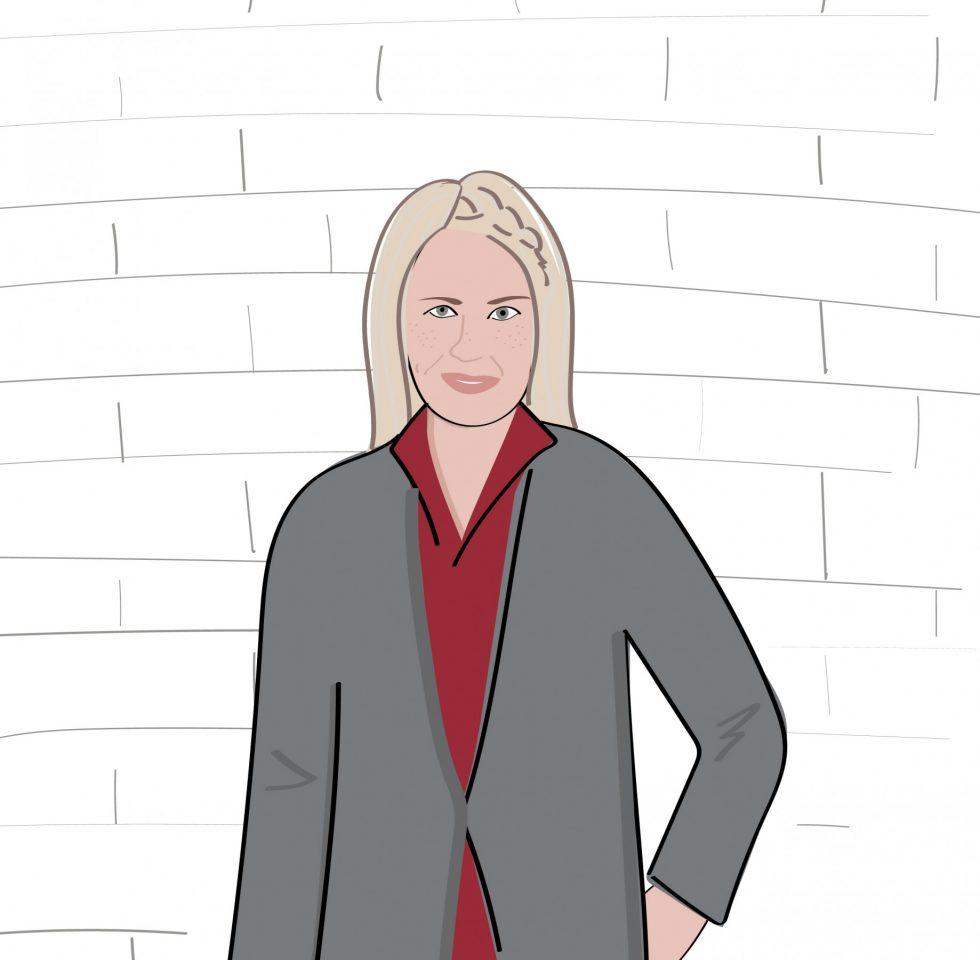 Illustration Of Glynnis Keogh