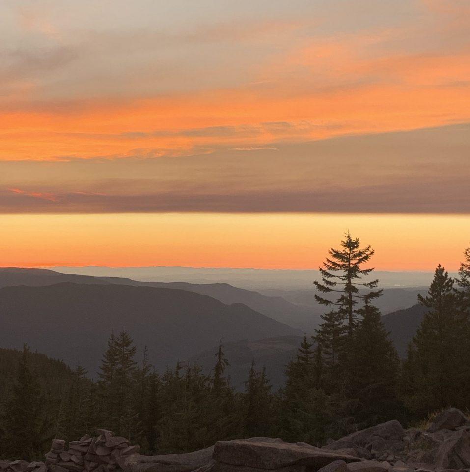 Oregon Sherbert Sunset
